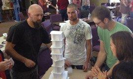 Activité de Team Building La tour la plus haute