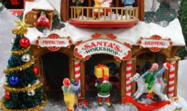 activités de team building atelier du Père Noël