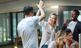 Formation en développement d'équipe et consolidation d'équipe créez une culture de reconnaissance et d'appréciation