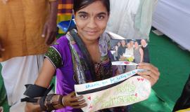 activité de Team Building philanthropique Main dans la main