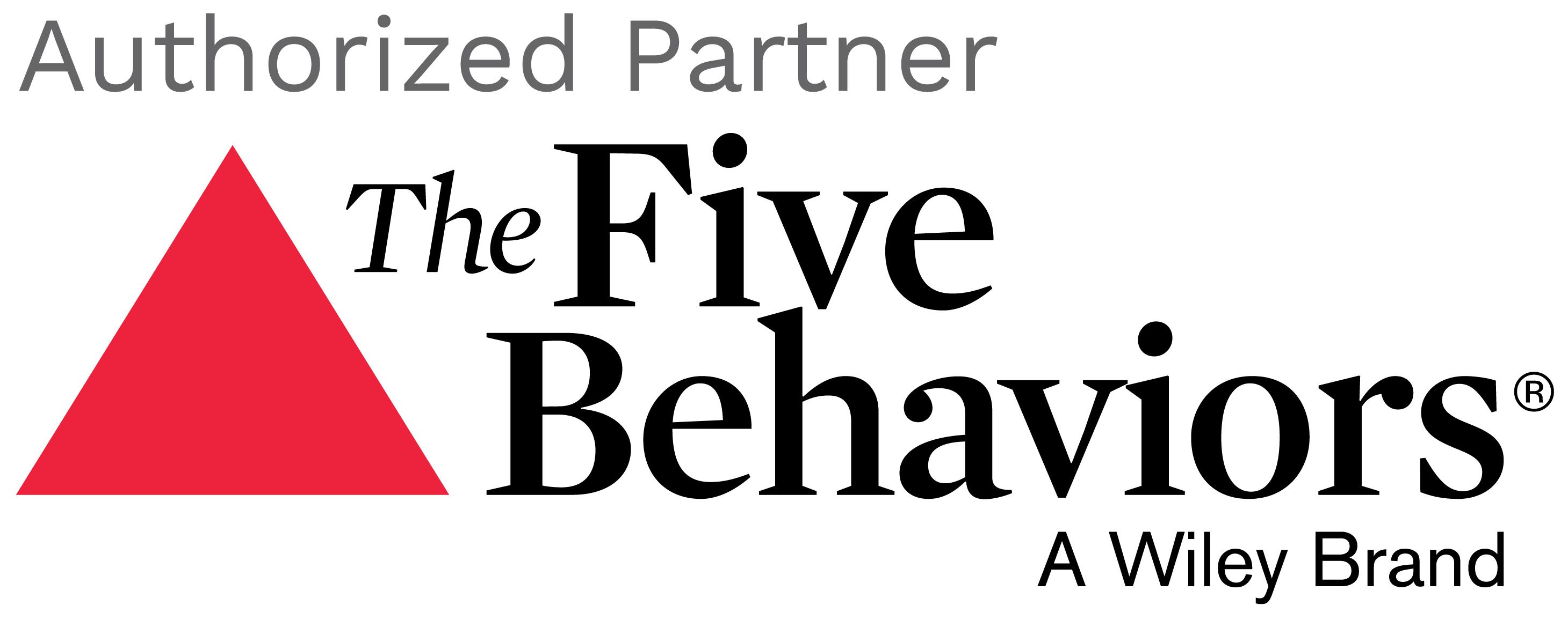 Five Behaviours Authorized Partner